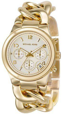 Michael Kors Quartz Gold Link Watch