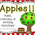 $Time for a fun week full of apples and Johnny Appleseed! This unit is packed with fun, engaging, and hands-on math, literacy, and writing activitie...