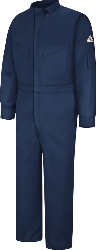 Bulwark FR Safety Clothing - FRC Safety - Bulwark Flame Resistant Deluxe Coverall - 5.8 oz, $114.88 #oilfield #roughneck #FR #oilpatch #oil #electricalengineer #oilfieldwife
