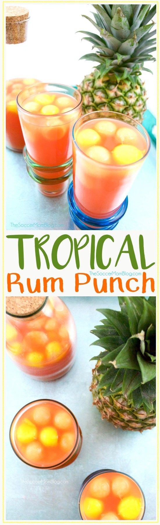 Easy tropical rum drink recipes