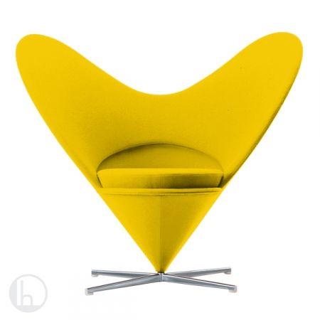 Heart Cone Chair Verner Panton 1959 Home Furnishings Pinterest Heart