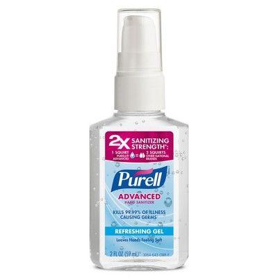 Purell Refreshing Gel Advanced Hand Sanitizer 12 Fl Oz Hand
