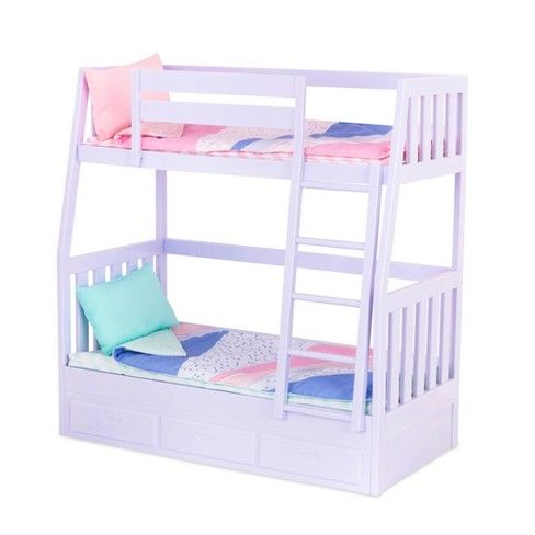 Our Generation Bunk Bed Target With Images Doll Bunk Beds