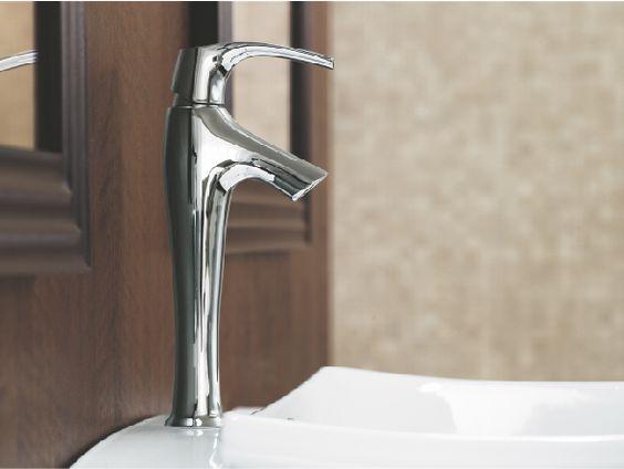 Kohler Symbol Single-handle Bathroom Vessel Sink Faucet with Lever ...