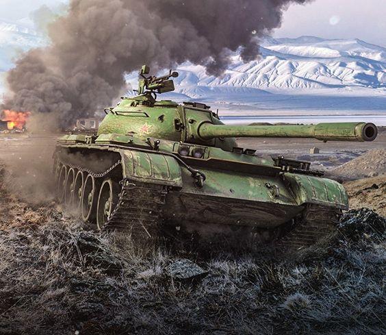 Soviet tank in Afghanistan