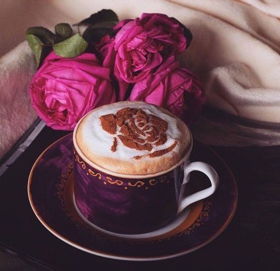"audreylovesparis: "" Coffee love """