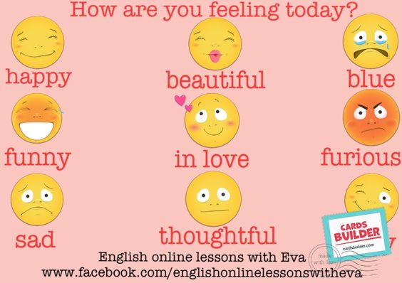 Expressing feelings in English :)