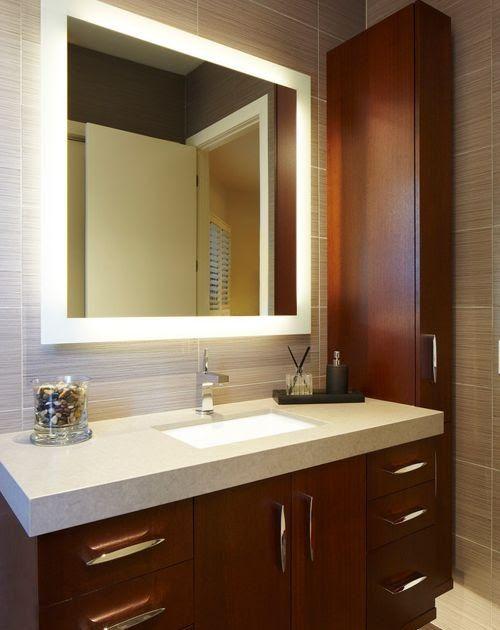 Backlit Mirror Houzz Bathroom Mirror Design Washbasin Design Small Bathroom Mirrors