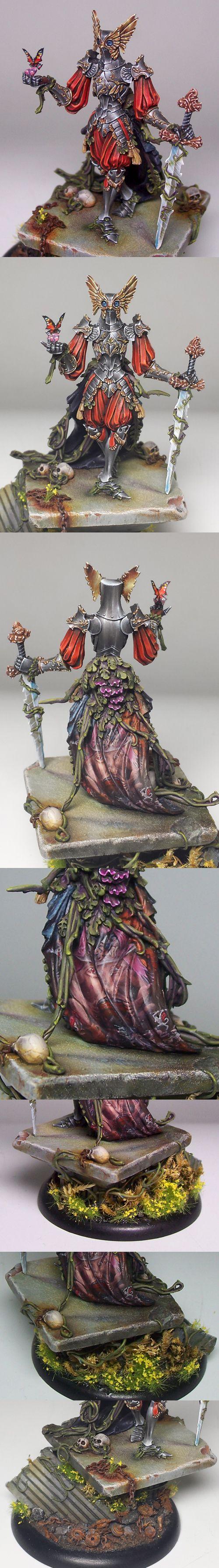 Kingdom Death - Flower Knight close ups by Tommie Soule