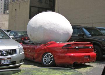 Hail damage car repair insurance claim 14