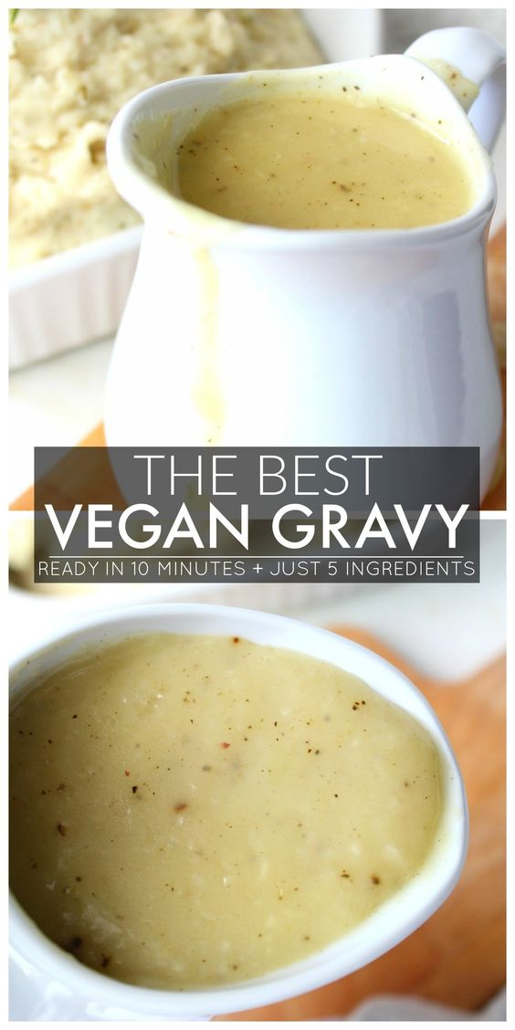 The Best Vegan Gravy