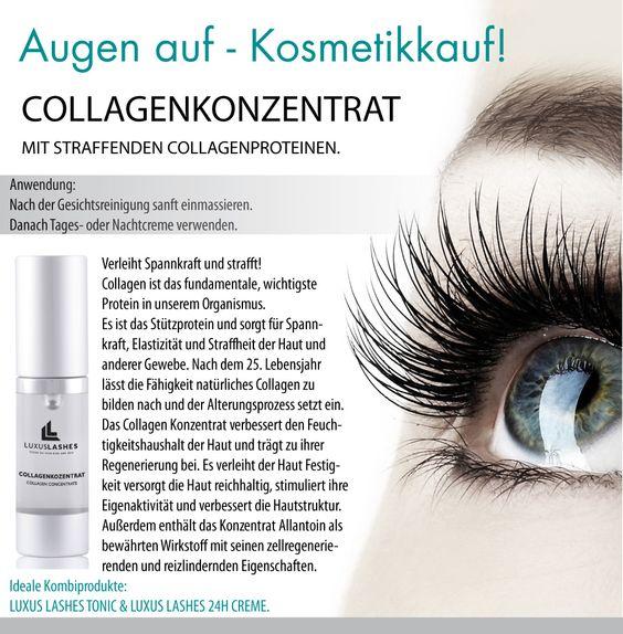LuxusLashes - Collagenkonzentrat