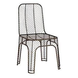 chicken wire chair