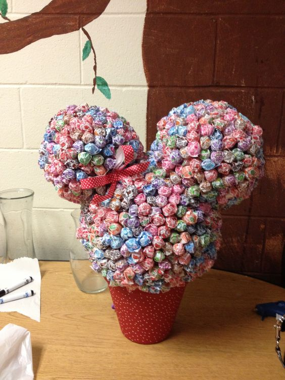 Mickey ears out of dum dums