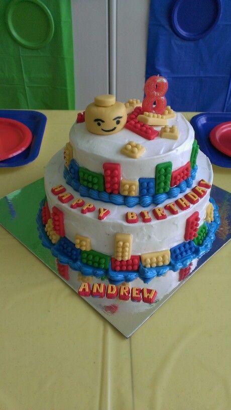 Dominican lego cake