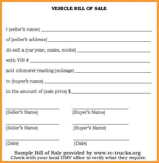 Pin By Heather Donaldson On Bill Of Sale Bill Of Sale Template Bill Of Sale Car Bill Template