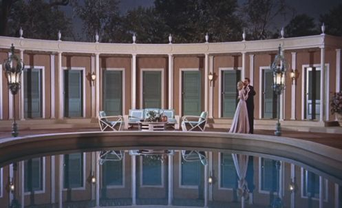 Classic Hollywood Glamour / High Society / Art Deco Swimming Pool: