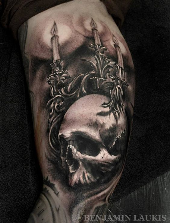 skull tattoo ink pinterest beautiful ink and awesome. Black Bedroom Furniture Sets. Home Design Ideas