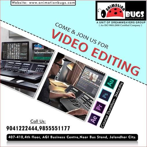 Video Editing has a great career in foreign as well as in India - video editor job description