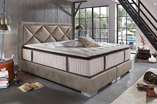 Box Spring Bed Baron Complete American Luxury Hotel Bed Faux