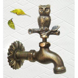 Brass Owl Faucet I am going to have one of these in ever faucet in my home!!!