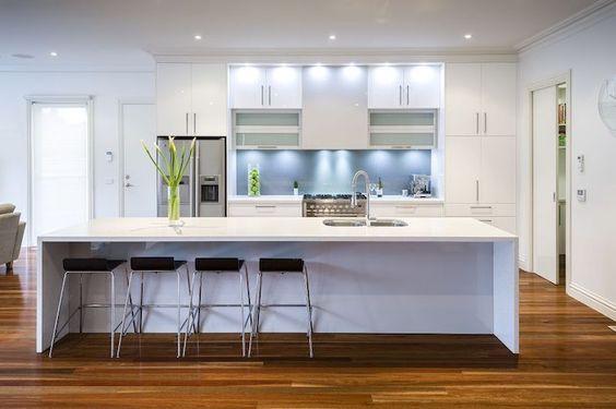 U-Form Küche - 35 Designideen für Ihre moderne Kücheneinrichtung - richtigen kuchengerate interieur auswahlen