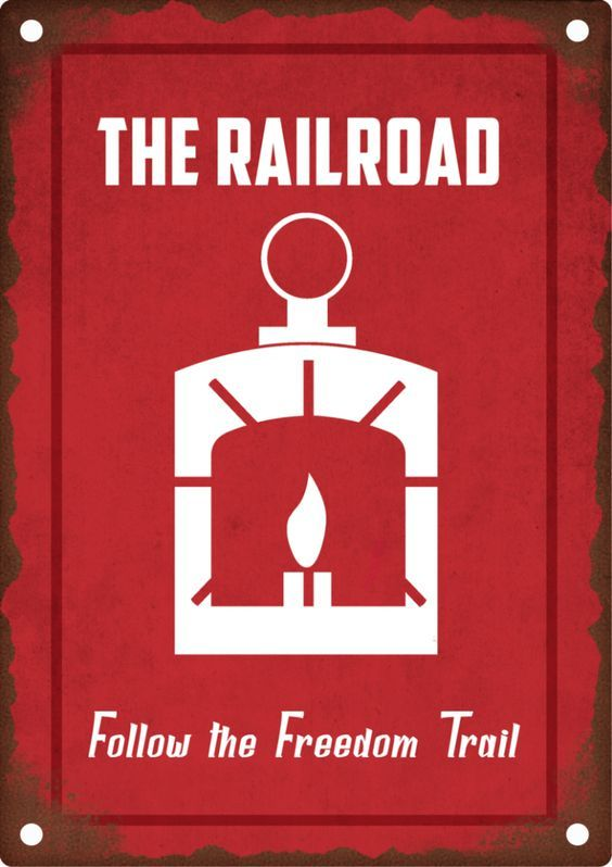 Where Is The Freedom Trail In Fallout 4 : where, freedom, trail, fallout, Fallout, Railroad,,