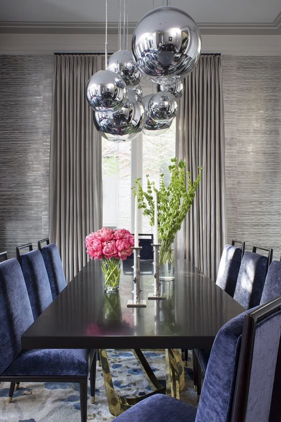 Dining rooms new year 39 s and trends on pinterest - Latest dining room trends to follow ...