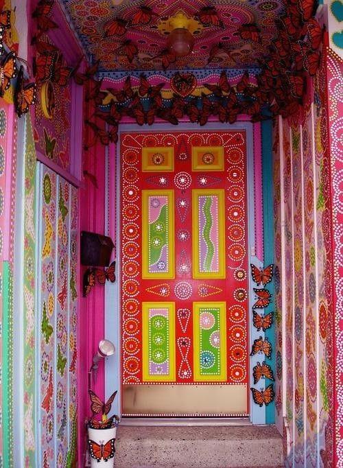 Colourful Door!