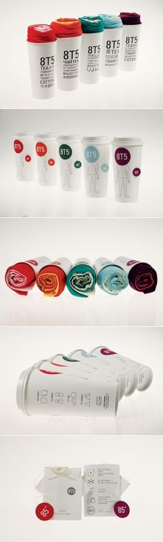 Color pallette - simple branding with colour range - could cover key verticals. Like the extension: Tea T-Shirt Packaging