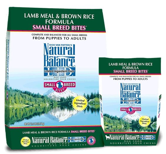L.I.D. Limited Ingredient Diets® Lamb Meal and Brown Rice Small Breed Bites® Dry Dog Formula. Dick Van Patten's Natural Balance® L.I.D. Limited Ingredient Diets® Lamb Meal and Brown Rice Small Breed Bites® Dry Formula gives your small breed dog a high quality source of nutrition with a limited number of protein and carbohydrate sources.Complete and balanced nutrition for all breeds and life stages from puppies to adults.