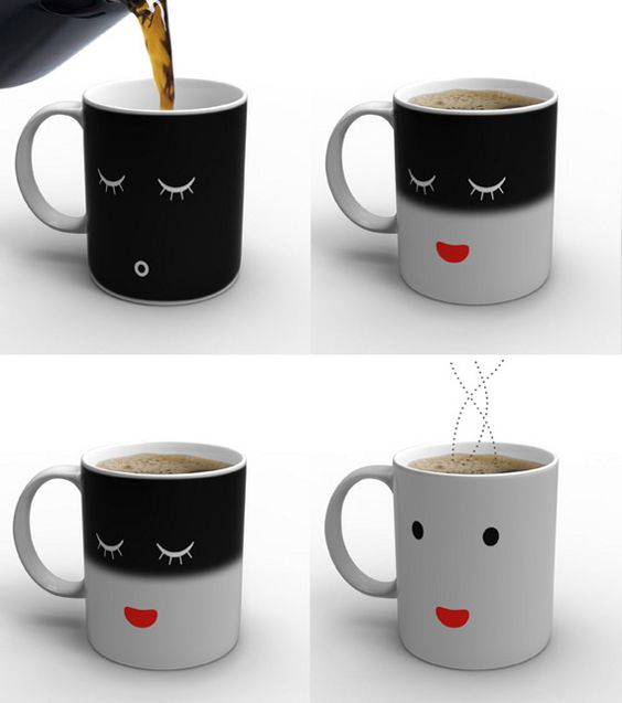 heat activated cup...too cute!  I want!!
