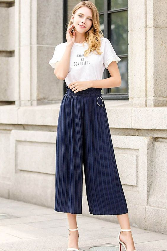 Image result for pleated pants 2020 outfit
