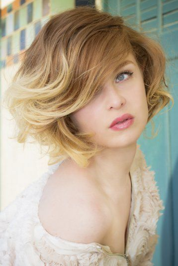 Pinterest le catalogue d 39 id es - Tie and dye blond cheveux mi long ...