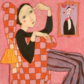 Blog of an Art Admirer: Cecile Veilhan and Her Women