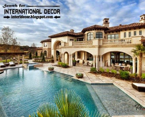 Stylish Designs Of Luxury Villa With Swimming Pool, Beautiful And Comfort,  #Luxury #