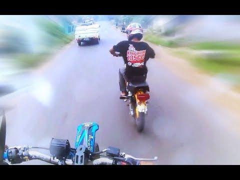 Klx Dipermalukan Oleh Rx King Balap Liar Dijalan Raya 135cc Vs