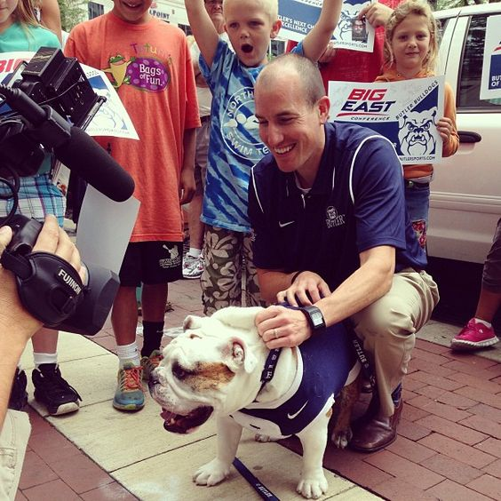 Had a great time on Monument Circle for #butlerbigeast Day! I got on TV and everything!