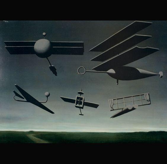 La bandera negra, René Magritte, 1936-1937