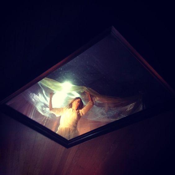 Mirror... Miroir Reflexion.. Reflection.. Beautiful... Coming soon :) #me #melissamars #video #music #blanche #white #fabric #flying #mirror #miroir #dancing #strange #noeffect #michigan #detroit #girl #ilovemylife #lifeisbeautiul