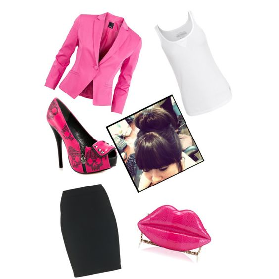 """Buisness"" by dhoppemolly on Polyvore"