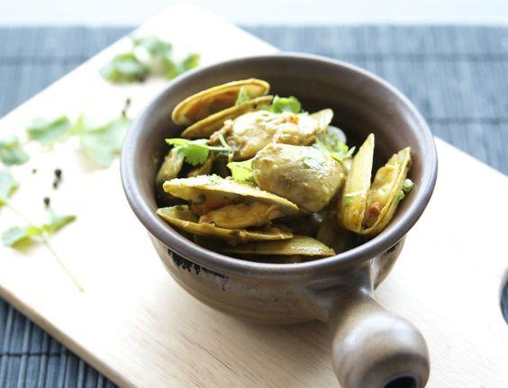 Spicy Pipi - Tuatua Recipe - nzgirl
