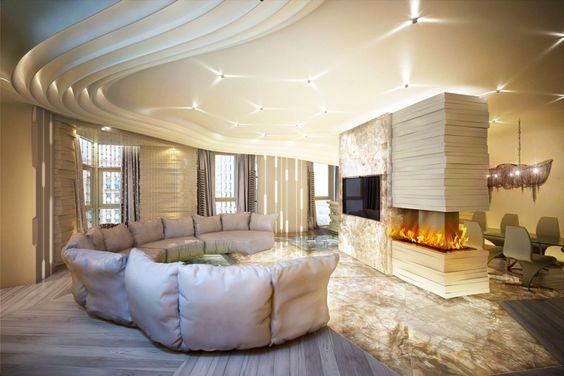Intérieur design – 65 idées splendides de salon, chambre à coucher et salle de bains