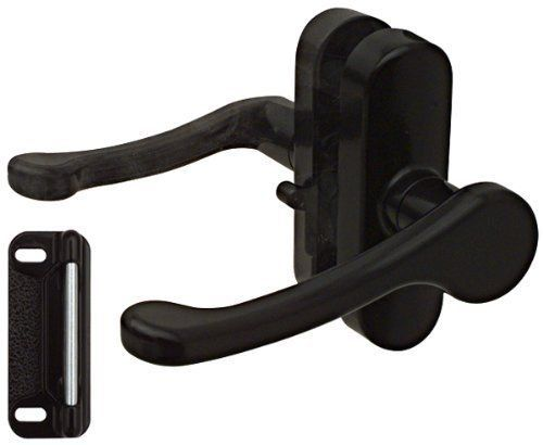 National Hardware N262 204 V1320 Lever Latches In Black 1 3 4 In 2020 Lever Latch Screen Door Latch Hardware
