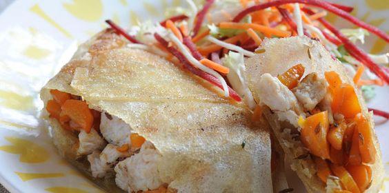 Bricks de dinde et carotte au fenugrec