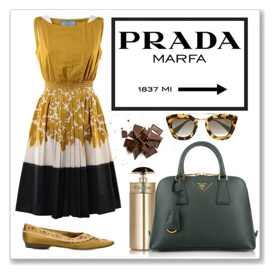 """#logomania"" by chloepop ❤ liked on Polyvore featuring Prada and logomania"