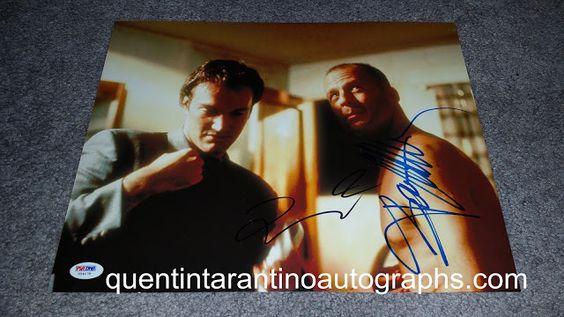 My Quentin Tarantino Autograph Collection: Quentin Tarantino, Bruce Willis and Brad Pitt! Pul...