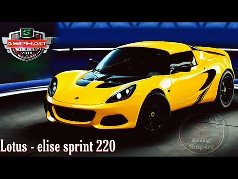 Car Racing Asphalt 9 Legends Lotus Elise Sprint 220 Los San