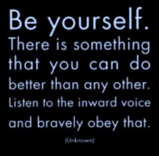 Be an original :)