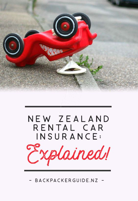 New Zealand Rental Car Insurance Explained Car Rental New